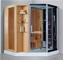 יבוא 4 יו - מקלחון משולב סאונה