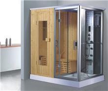 יבוא 4 יו - מקלחון מפואר משולב סאונה