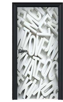 תמונת מגנט לדלת