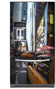 כיסוי למקרר ניו יורק - FUNKYDOOR