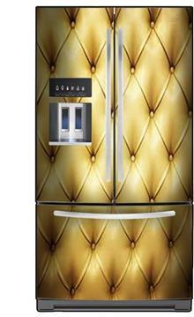 FUNKYDOOR - ציפוי למקרר זהב