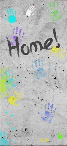 ציפוי דלת HOME - FUNKYDOOR