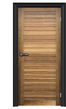 FUNKYDOOR - ציפוי לדלת עץ מלא