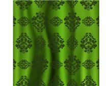 טפט ירוק מעוטר