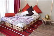כיסוי מיטה ארוג