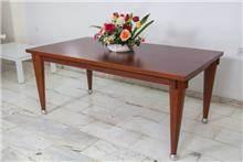 שולחן אוכל עץ בוק