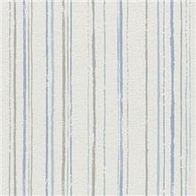 Blinds-US - טפט פסים אפור כחול טורקיז