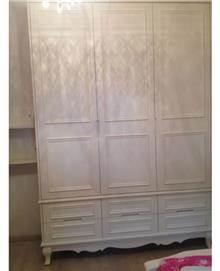 ארון לבן מעוצב - מיקול רהיטים