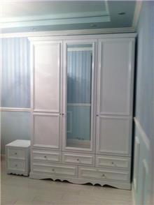 ארון לבן 3 דלתות - מיקול רהיטים