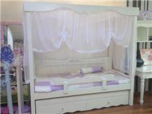 מיטת אפיריון לבנות