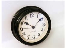 שעון קיר שחור