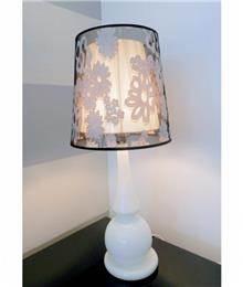 מנורה אהיל כפול - רקפת ספיר R.H.S