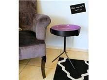 שולחן צד סגול - רקפת ספיר R.H.S