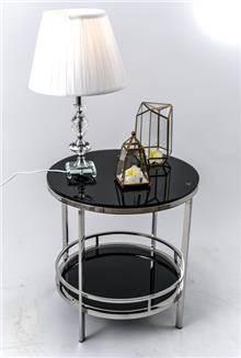 שולחן צד סופיה שחור - רקפת ספיר R.H.S