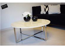 שולחן לוק כסוף שיש אופווייט - רקפת ספיר R.H.S