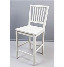כסא בר פסים קרם