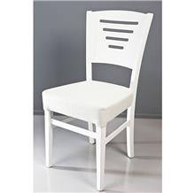 כסא פינת אוכל לבן