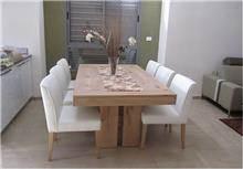 שולחן אוכל עץ