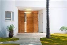 דלת חזית פסי רוחב
