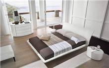 חדר שינה בעיצוב מעוגל