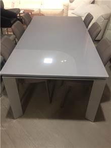 רוזטו רהיטים - Rossetto - שולחן אוכל + 6 כיסאות מעוצבים