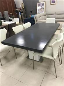 שולחן אוכל שחור - רוזטו עודפים
