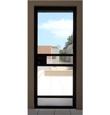 """דלת יציאה מאלומיניום - אלומטל מעטפת לבניין בע""""מ"""