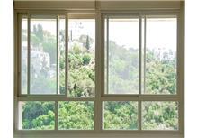 חלון פרופיל אלומיניום
