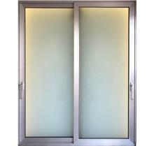 """דלת הזזה אלומיניום - אלומטל מעטפת לבניין בע""""מ"""