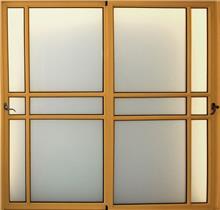 """דלת הזזה בלגית - אלומטל מעטפת לבניין בע""""מ"""