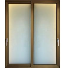 """דלת אלומיניום הזזה - אלומטל מעטפת לבניין בע""""מ"""