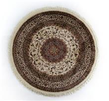 שטיח עגול אספהן משי 446
