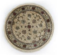 שטיח עגול אספהן משי 440