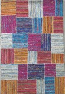 שטיח פאצים צבעוני