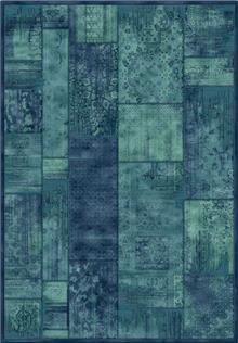 שטיח אספהן בגווני כחול