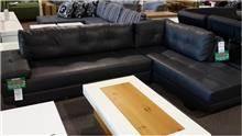 ספה פינתית שחורה
