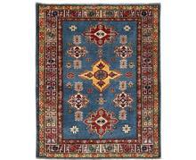 שטיח כחול וחום
