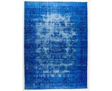 שטיחי אלי ששון - שטיח כחול מהודר