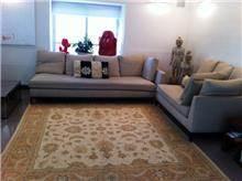 שטיח בגווני שמנת