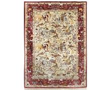 שטיחי אלי ששון - שטיח משי מרשים
