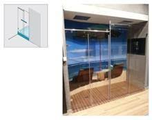 א.ר. שיווק - מקלחוני זכוכית