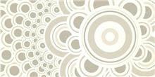 זכוכית מודפסת עיגולים מעוצבת - א.ר. שיווק