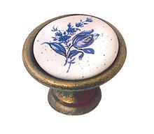 א.ר. שיווק - כפתור עגול פרחים