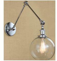 אופק תאורה חוץ ופנים - מנורת קיר בועה