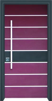 דלת כניסה מסדרת מודרני דגם 1039