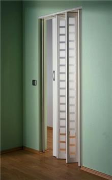 דלת אקורדיון דגם ריבועים