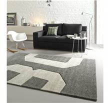 buycarpet - שטיח מספרים אפור