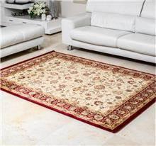 שטיח קילים אדום בז'