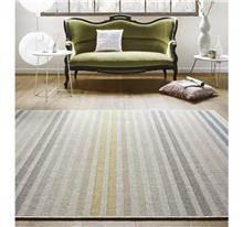 buycarpet - שטיח פסים צהוב כחול