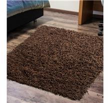 buycarpet - שטיח ספגטי עור חום